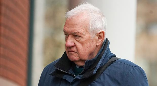 Hillsborough match commander David Duckenfield is accused of the manslaughter by gross negligence of 95 Liverpool supporters at the 1989 FA Cup semi-final (Owen Humphreys/PA)