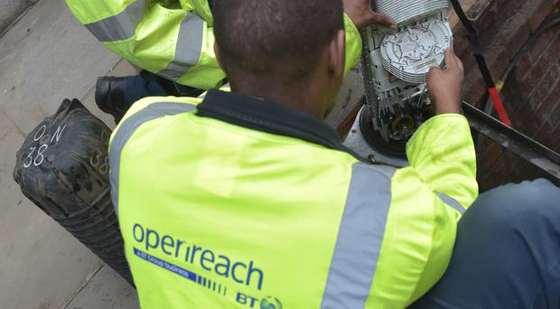 Openreach has launched a new trial to connect 13 rural communities across the UK with faster and more reliable fibre broadband (PA)
