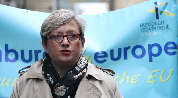 SNP MP Joanna Cherry is one of those bringing the legal action (Andrew Milligan/PA)