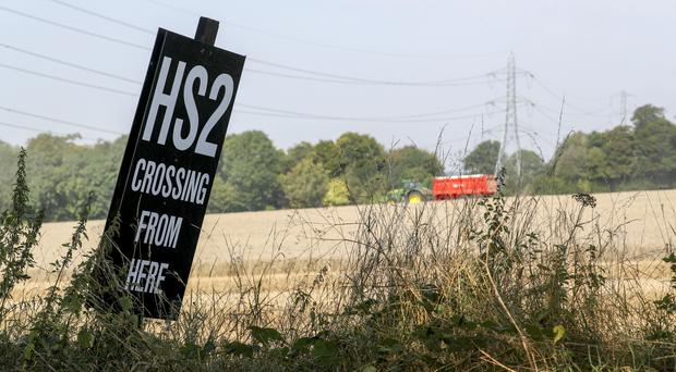 There is growing concern over the cost of HS2 (Steve Parsons/PA)