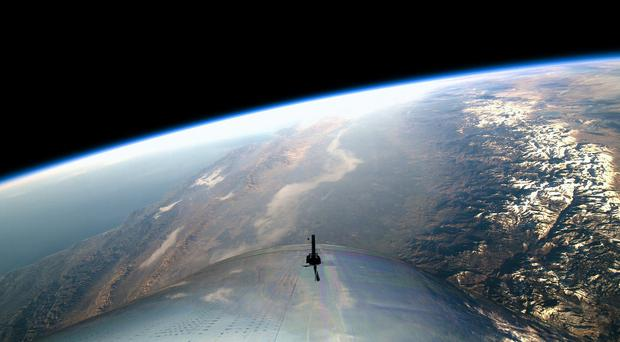 You could buy enough trips on Virgin Galactic to take 850 people into space (Virgin Galactic/PA)