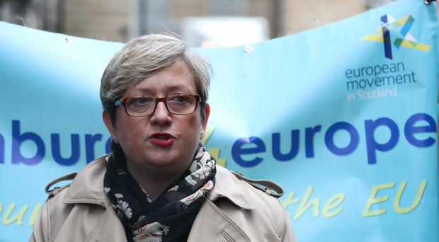 SNP MP Joanna Cherry warned Prime Minister Boris Johnson must obey the law and request an extension to the Article 50 process if no deal is reached (Andrew Milligan/PA)
