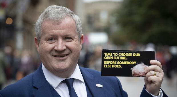SNP Westminster leader Ian Blackford will speak on the opening day of the party conference in Aberdeen (Jane Barlow/PA)