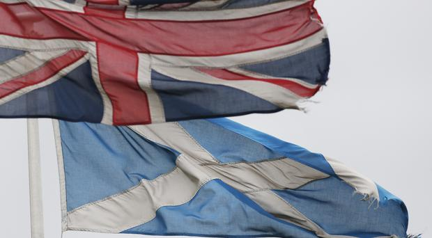 A poll has recorded 50% support for Scottish independence (Danny Lawson/PA)