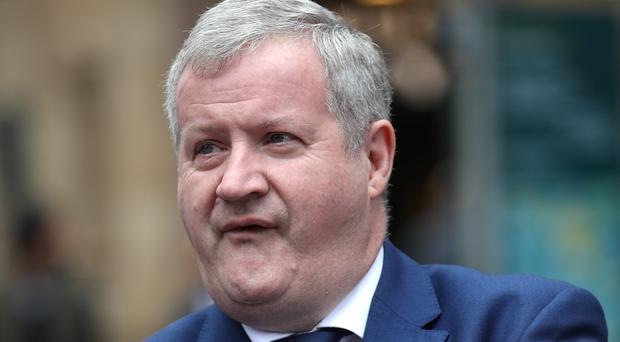 SNP Westminster leader Ian Blackford calls for a second Scottish independence referendum to take place in 2020 (PA)