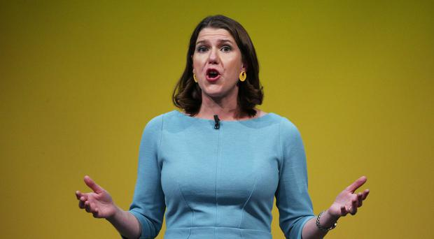 Liberal Democrat leader Jo Swinson says Jeremy Corbyn and Boris Johnson are not fit to be PM (PA)