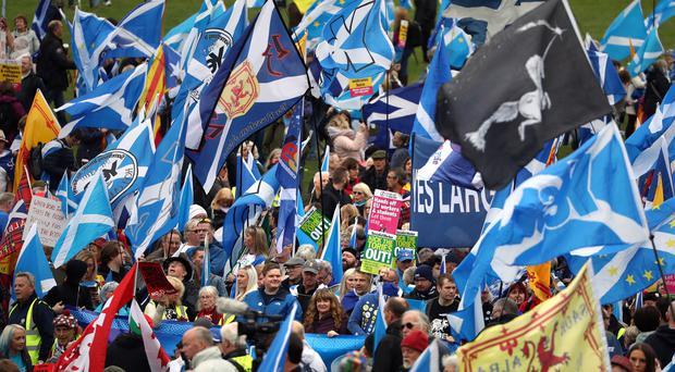 SNP members rejected the call for a plan B to secure Scottish independence (Andrew Milligan/PA)
