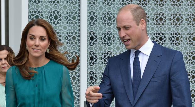 The Duke and Duchess of Cambridge are embarking on their five-day visit to Pakistan (Jeff Spicer/PA Wire)