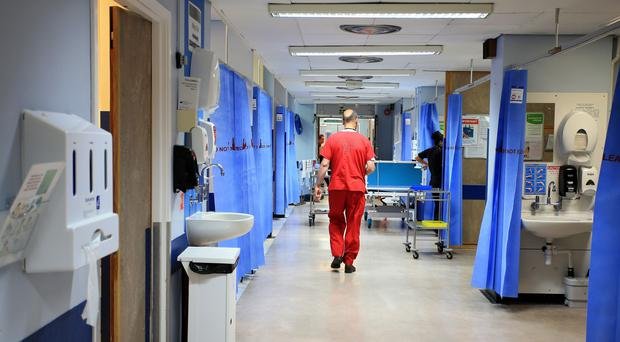 Hospitals are facing a 'perfect storm' when it comes to some services, the Care Quality Commission said (Peter Byrne/PA)
