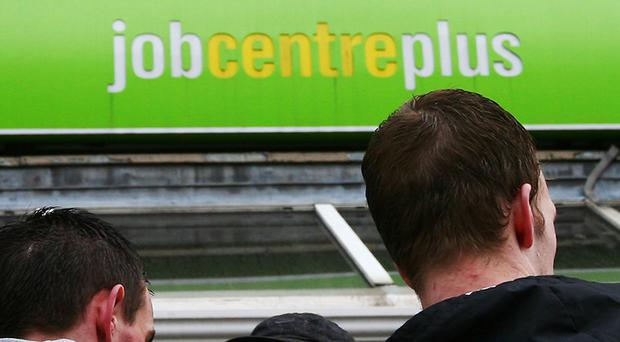 The number of people in work slumped by the steepest decline in more than four years in the three months to August (Gareth Fuller/PA)