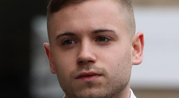 Thomas Haining was sentenced to eight years in prison at the High Court in Edinburgh on Tuesday (Andrew Milligan/PA)
