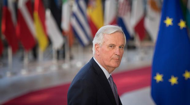 Michel Barnier, the EU's Chief Brexit Negotiator, arrives at the European Council in Brussels where European Union leaders are meeting to discuss Brexit (PA)