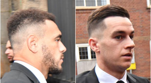 Derby pair Mason Bennett and Tom Lawrence have admitted drink-driving and failing to stop (Jacob King/PA)