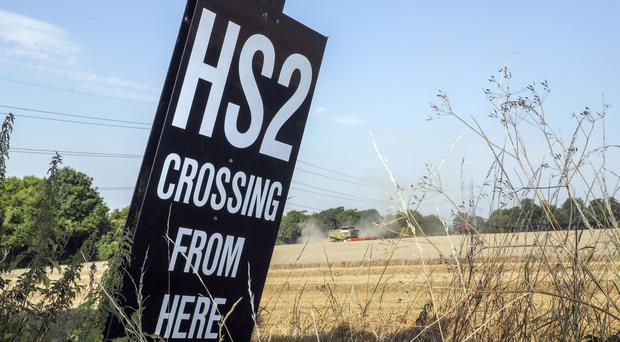 A Government-commissioned review of HS2 is due to be completed shortly (Steve Parsons/PA)