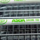 Trolleys at the Asda store in Leyton, East London (Sean Dempsey/PA)