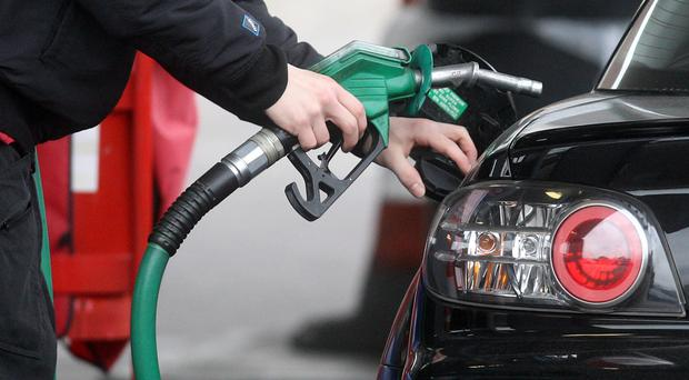 A fall in fuel prices kept inflation at its lowest since 2016 (PA)