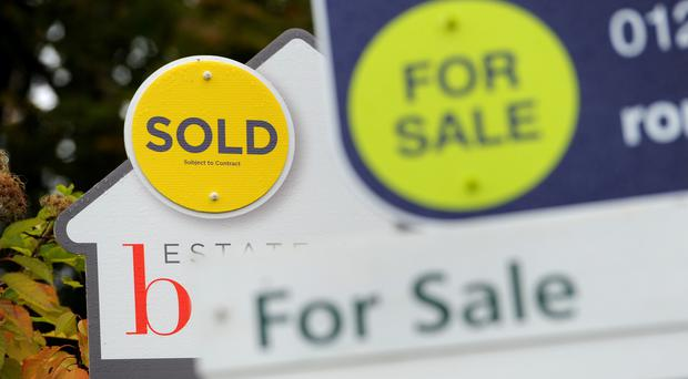 Annual house price growth accelerated in August from a previous near seven-year low, official figures show (Andrew Matthews/PA)