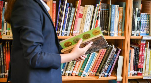 Around one in eight schools do not have a dedicated library space, according to a report (Ben Birchall/PA)