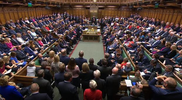 MPs in the House of Commons (House of Commons/PA)