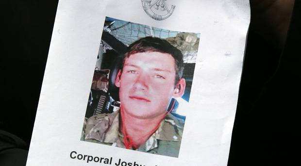 Corporal Josh Hoole died near the end of an eight-mile march at an Army training centre (Andrew Milligan/PA)