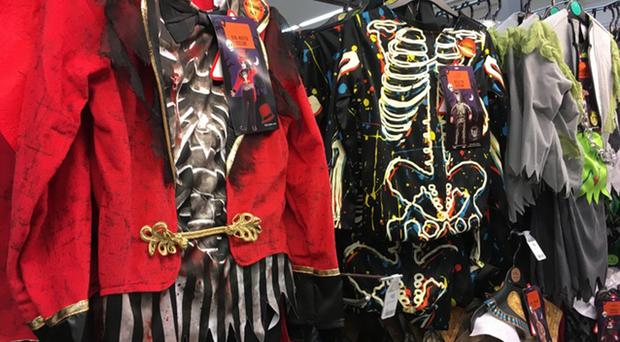 A study has warned of plastic waste from Halloween costumes (Fairyland Trust/PA)