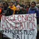 "Students have called for university education to be decolonised, saying institutions are ""a product of colonialism"" (Steve Parsons/PA)"