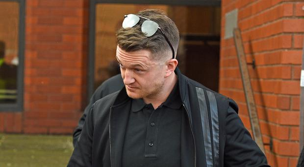 Tommy Robinson (Kirsty O'Connor/PA)