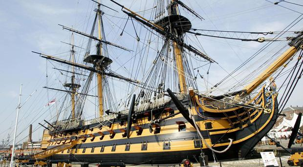 A general view of HMS Victory in Portsmouth (Gareth Fuller/PA)