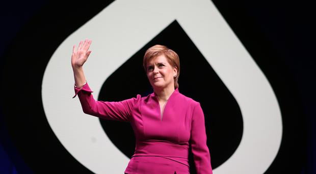 Nicola Sturgeon warned Labour about its future in Scotland if it helps the Brexit deal go through (Jane Barlow/PA)