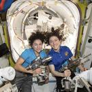 Christina Koch and Jessica Meir (Nasa)