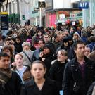 The estimated population of the UK has hit 66.4 million, a year-on-year increase of 0.6%, the Office for National Statistics said (Fiona Hanson/PA)