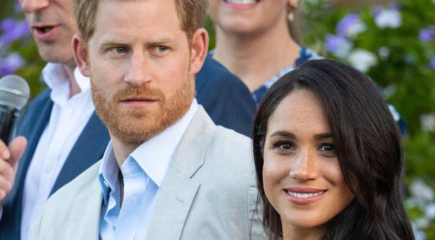 The Duke and Duchess of Sussex have spoken of their struggles (Dominic Lipinski/PA)