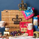 The large Buckingham Palace Christmas hamper (Royal Collection Trust/Her Majesty Queen Elizabeth II 2019/PA)