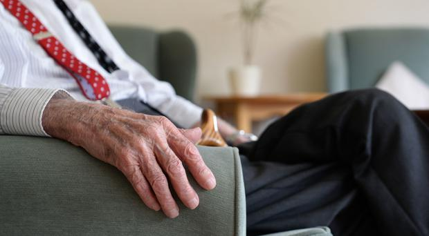 The number of people with social care needs receiving long-term care in England has fallen every year since 2015/16, data shows (Joe Giddens/PA)