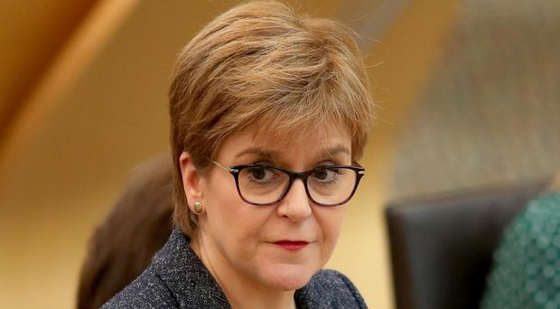 Scotland's First Minister Nicola Sturgeon will say that Brexit would be bad for Scotland's economy (Jane Barlow/PA)