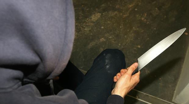 Knife crime offenders are now more likely to be sent to jail and be behind bars for longer, the Ministry of Justice said (Katie Collins/PA)