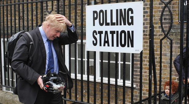 Will Boris Johnson be returning to a polling station soon? (PA)