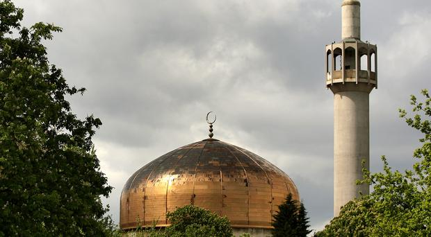 The London Central Mosque seen from Regent's Park (Anthony Devlin/PA)