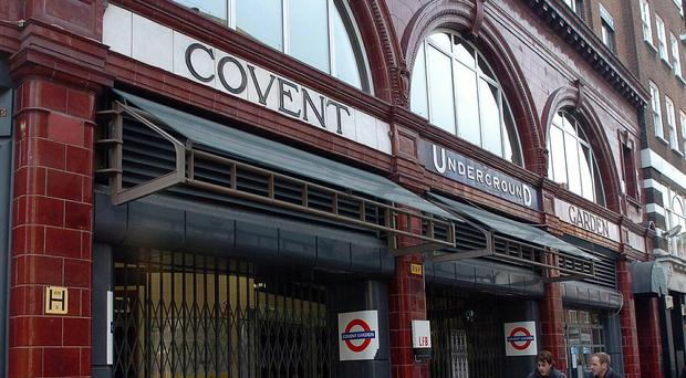 Covent Garden London Underground station (Michael Stephens/PA)
