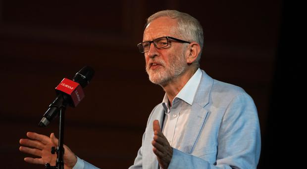 Jeremy Corbyn will outline Labour's plans to invest £70 billion in public services and infrastructure in Scotland (Owen Humphreys/PA)