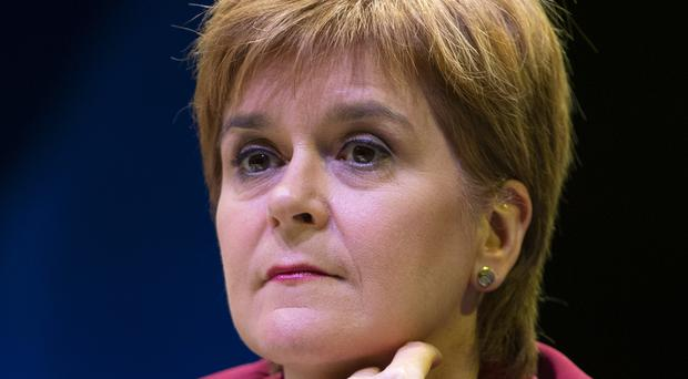 First Minister Nicola Sturgeon claims Scotland is being ignored by Westminster (Jane Barlow/PA)