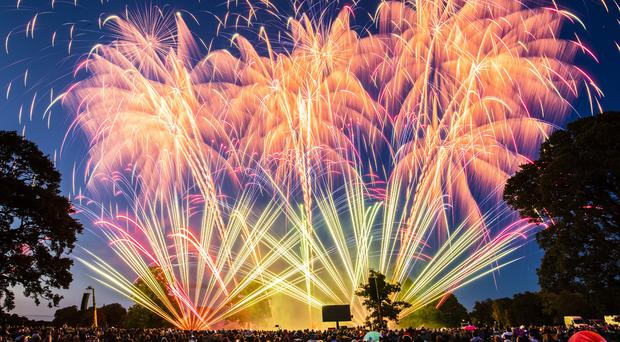 Weekend fireworks displays could be hit by rain (PA)
