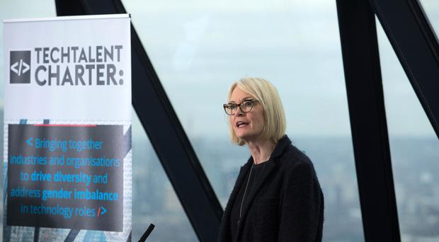 Former Digital and the Creative Industries Minister Margot James (David Parry/PA)