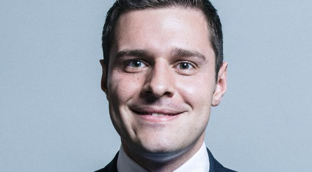 Ross Thomson has stepped down as the Conservative candidate for Aberdeen South in the wake of claims made by a Labour MP. (Chris McAndrew/UK Parliament/PA Images)