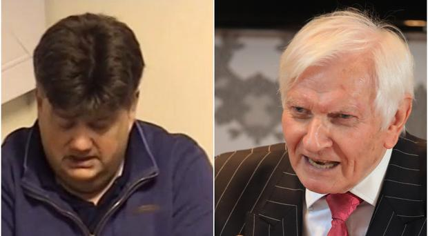 Carl Beech and Harvey Proctor (CPS/Danny Lawson/PA)