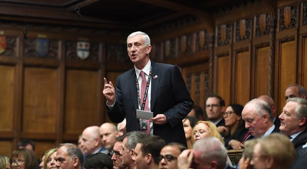 Sir Lindsay Hoyle has been elected (UK Parliament/Jessica Taylor)