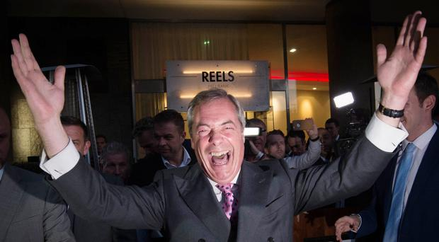 Nigel Farage (PA)