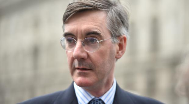 Jacob Rees-Mogg faced widespread criticism (David Mirzeoff/PA)