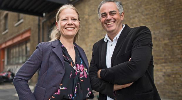 Green Party co-leaders Sian Berry and Jonathan Bartley (Stefan Rousseau/PA)