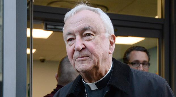 Cardinal Vincent Nichols, Archbishop of Westminster, was giving evidence to the Independent Inquiry into Child Sexual Abuse (Kirsty O'Connor/PA)